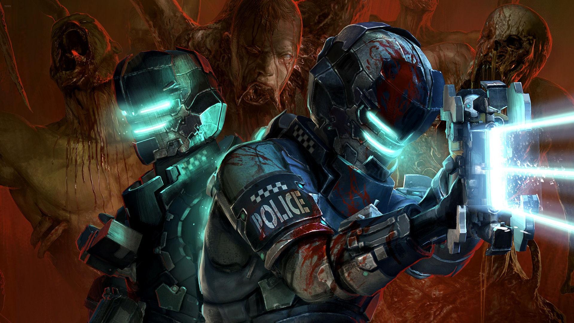 Dead Space 2 Suits Desktop Wallpaper   Wallpup.com