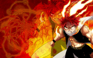 Dragon Slayer Natsu - Fairy Tail Walpaper