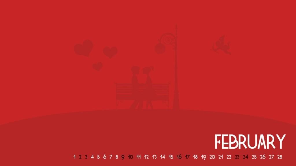 February Valentine Calendar
