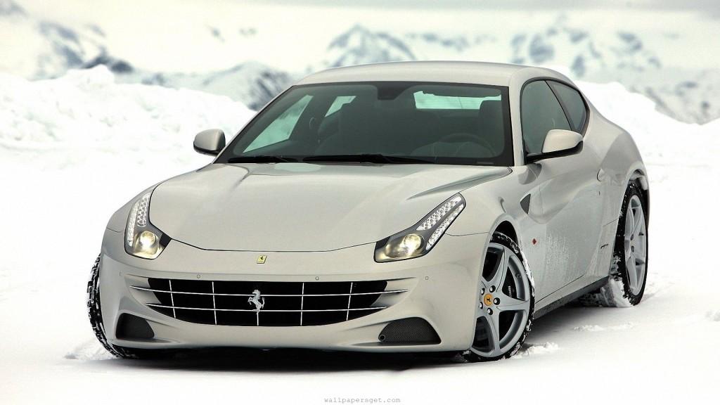 Ferrari FF Silver Wallpapers