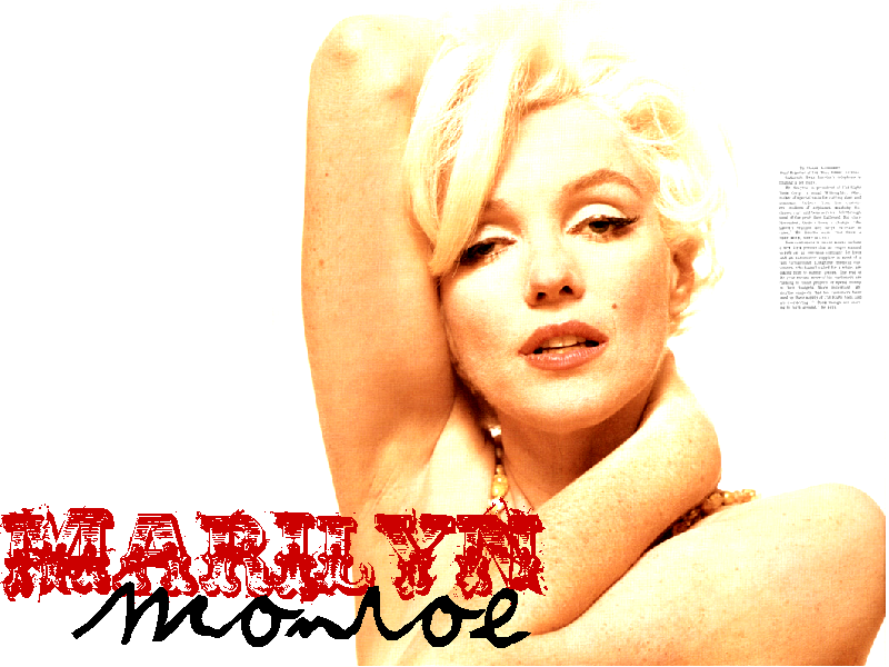 Free Marilyn Monroe Wallpaper