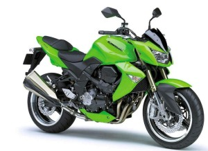 Green Kawasaki Z1000 Wallpaper