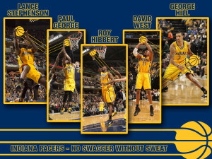 Indiana Pacers 2013 Starters