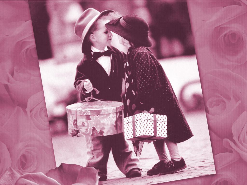 Kiss Day HD Wallpaper