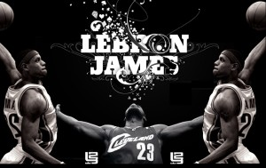 Lebron James Slam Dunk Wallpaper