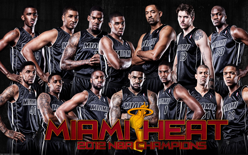 Miami Heat Team 2013