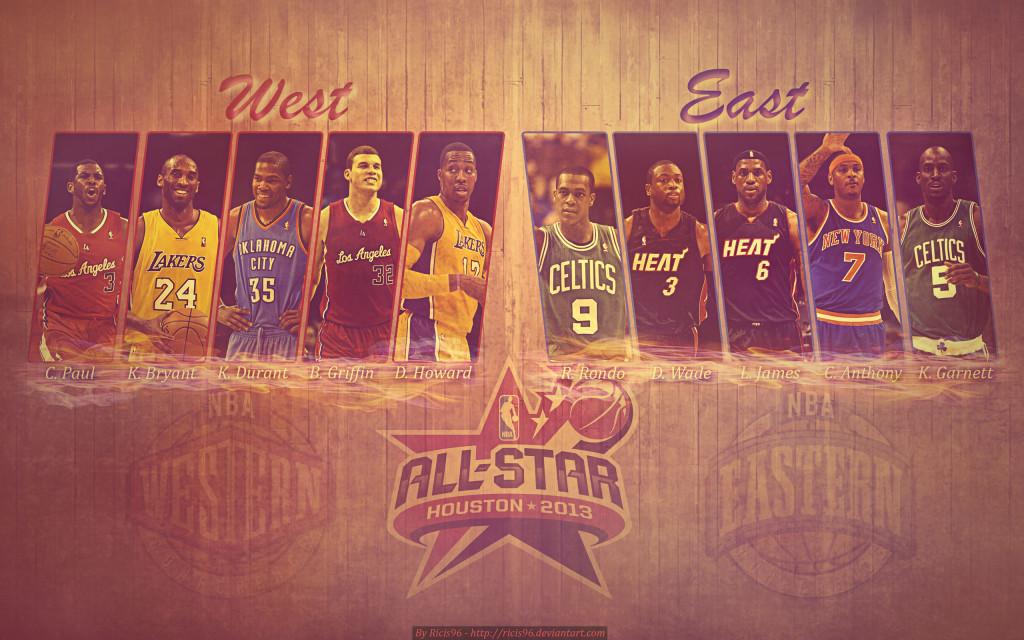 NBA All-Star Starters 2013