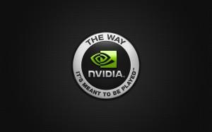 Nvidia Logo Widescreen 1920X1200