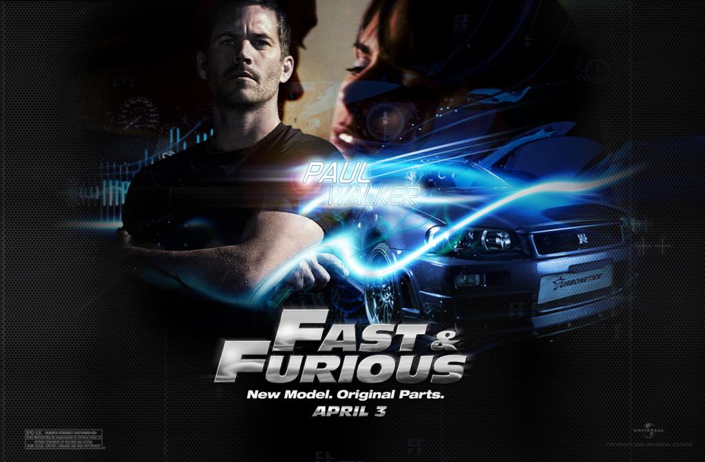 Paul Walker Fast And Farious 6 Wallpaper