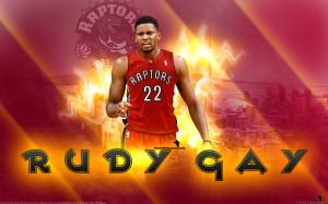 Rudy Gay Toronto Raptors 2013