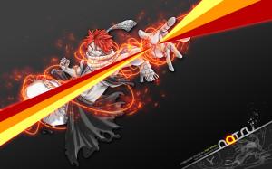 Salamander Natsu - Fairy Tail Wallpaper
