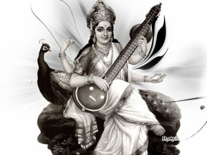 Saraswati Maa Wallpaper HD