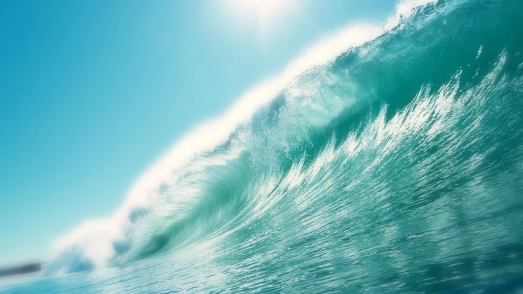 Sea Tide Wallpaper