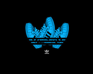 Shoes Adidas Logo Wallpaper