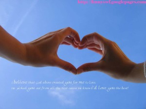 Two Love Hand Love Wallpaper