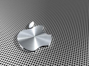 Wallpaper Apple Aluminium