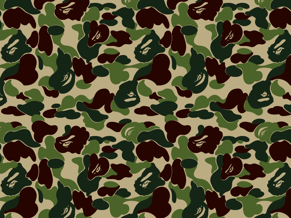 pics photos bape camo wallpaper desktop