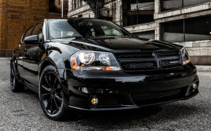 2013 Dodge Avenger Black Edition Wallpaper