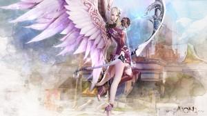 Aion Fantasy CG Archer Girl Wallpaper