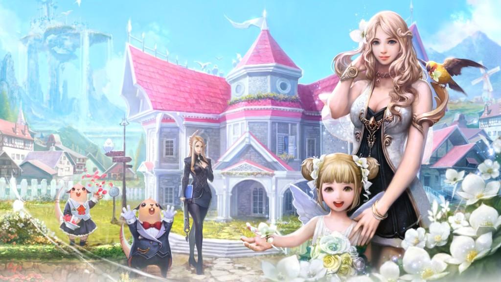 Aion Fantasy Games Wallpaper
