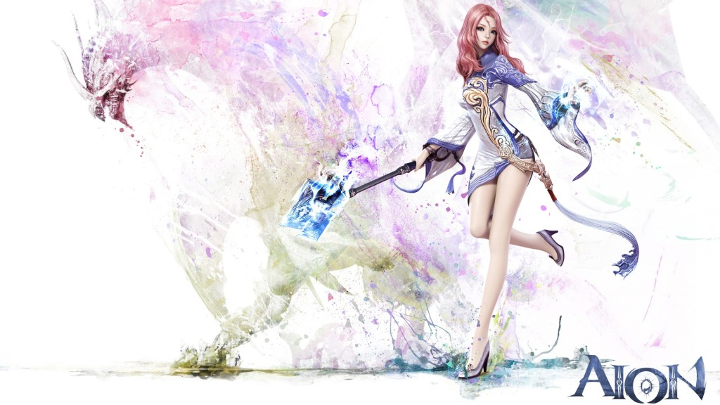 Aion Game Girl Wallpaper