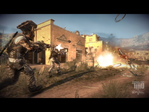 Army of Two the Devils Cartel Game Wallpaper