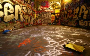 Artistic Graffiti Wallpaper