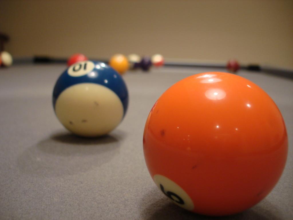 Billiards Ball Wallpaper