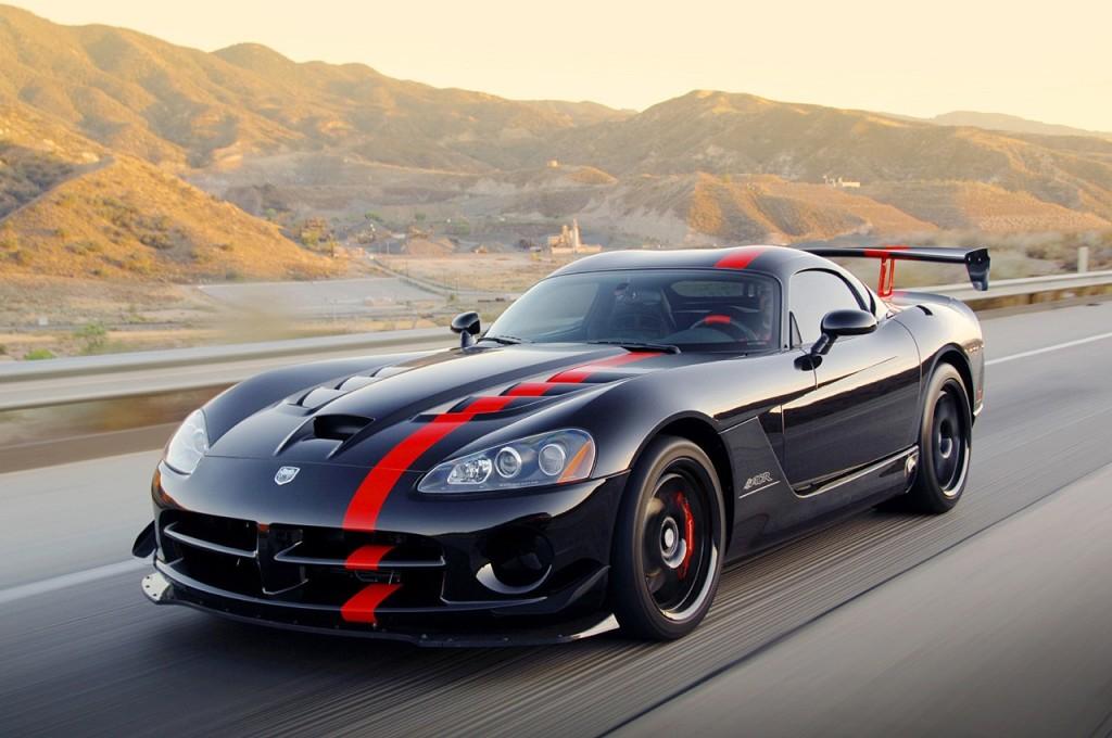 Black Dodge SRT Viper