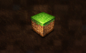 Blocks Dirt Minecraft Wallpaper