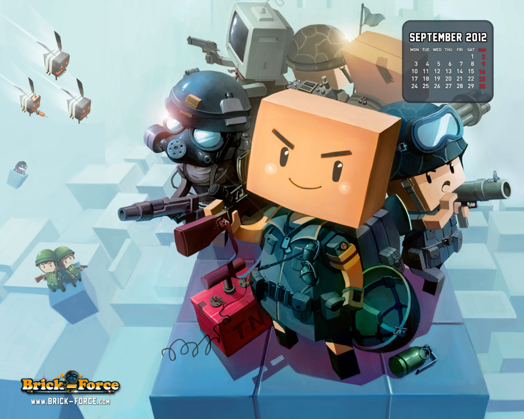 Brick Force Games Wallpaper