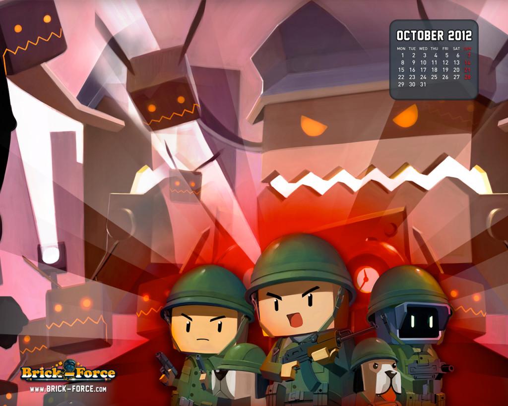 Brick Force October Wallpaper
