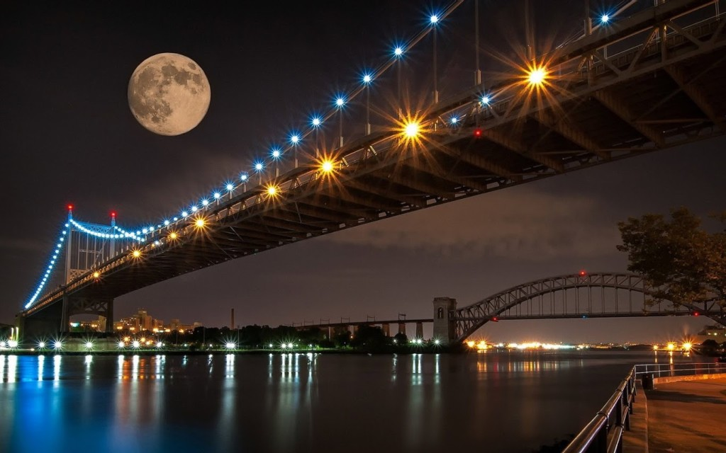 Bridge View in night
