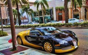 Bugatti Veyron in Dubai