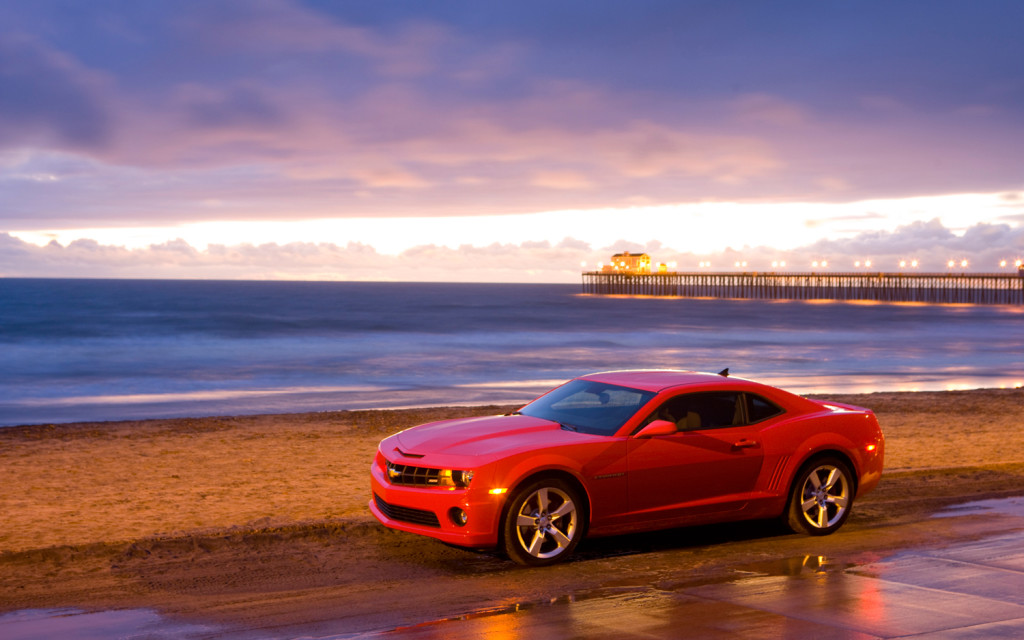 Chevrolet Camaro SS Red Wallpaper