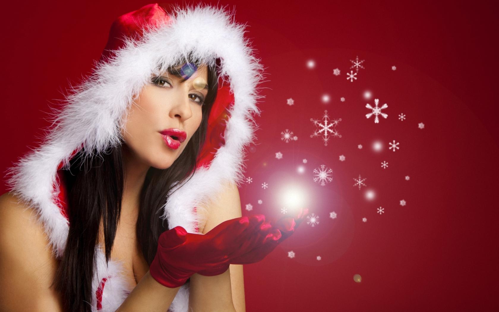 Christmas girls for Hot christmas pics