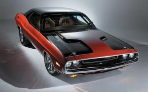 Classic Dodge Challenger Wallpaper