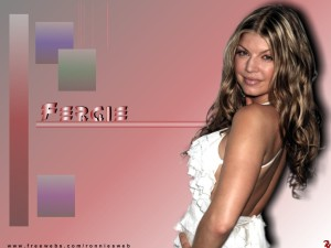 Cute Fergie Wallpaper