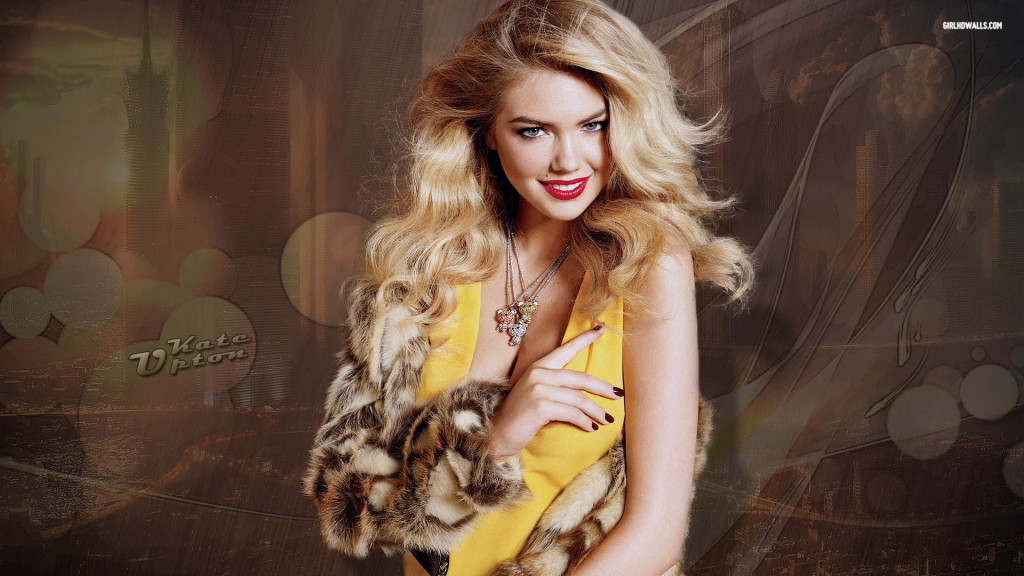 Cute Kate Upton Wallpaper