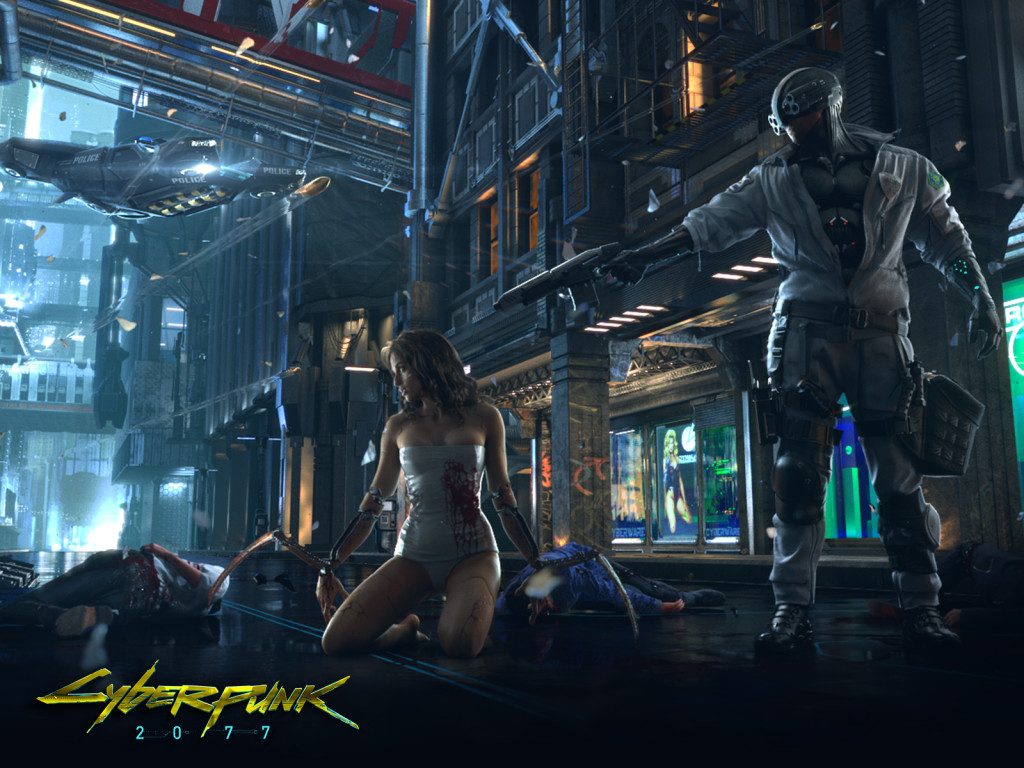 Cyberpunk 2077 Games Wallpaper