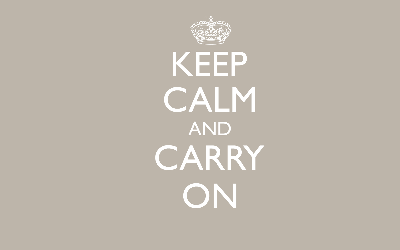 Download Keep Calm Wallpaper