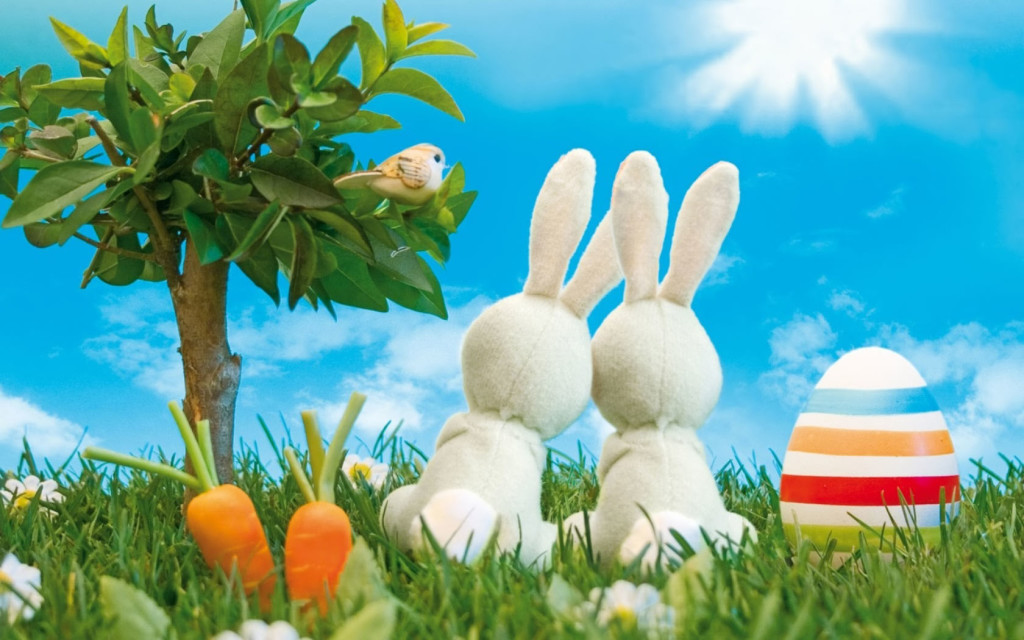 Easter Bunny HD Wallpaper