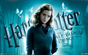 Emma Watson at Harry Potter Wallpaper