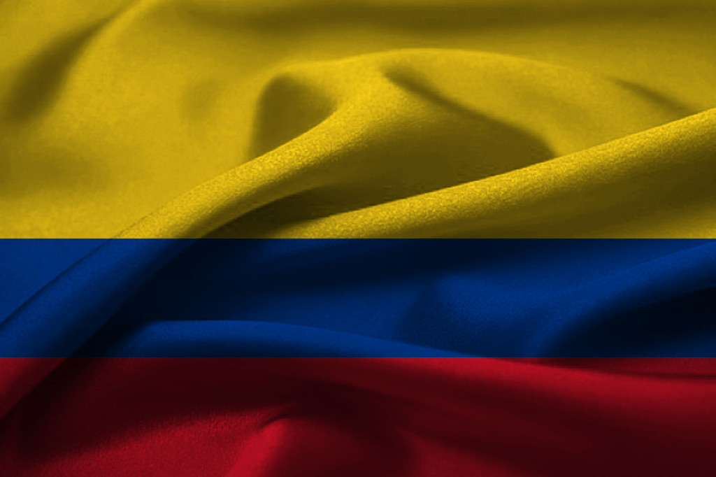 Flag Colombia Wallpaper