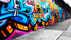 Free Graffiti Wallpaper