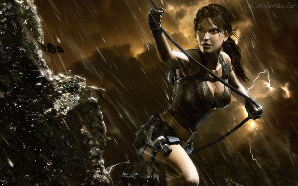 Free Lara Croft Tomb Raider 2 Wallpaper