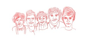 Free One Direction Caricature