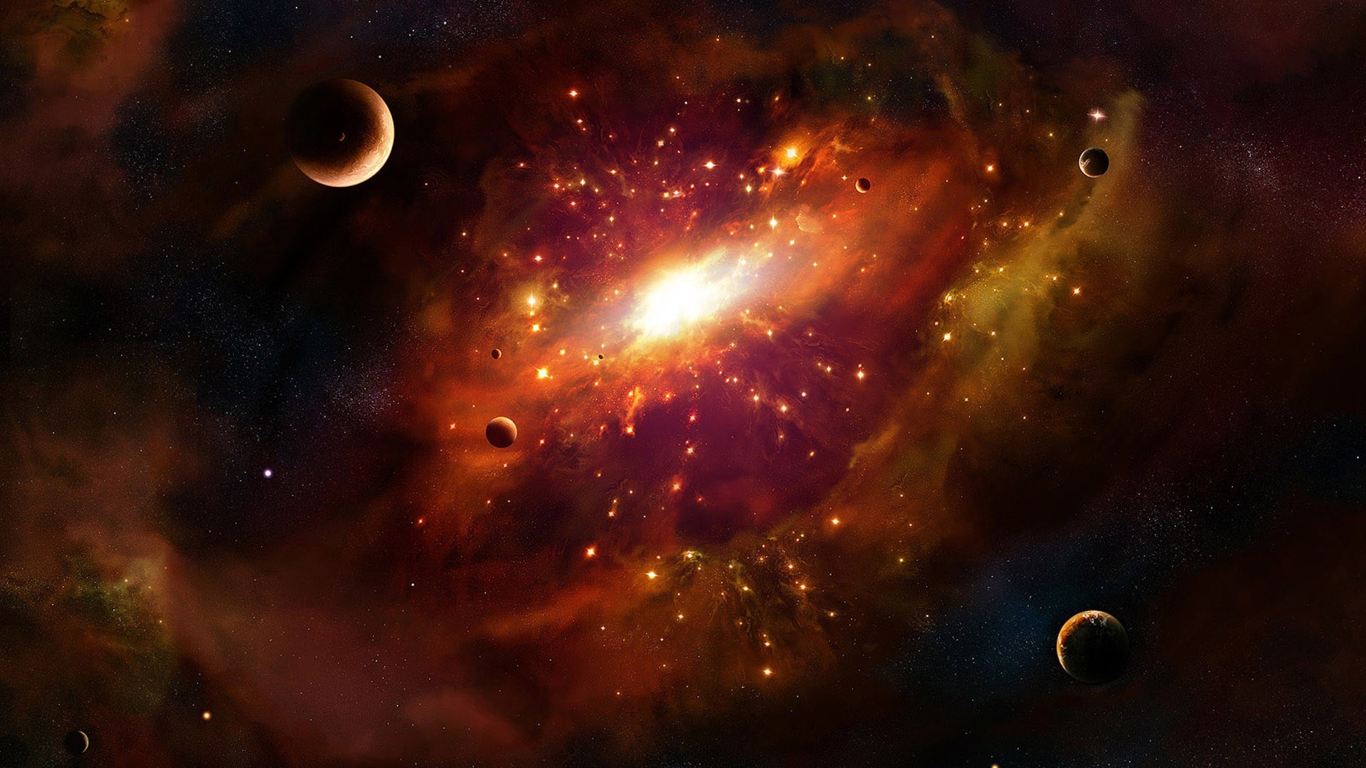Galaxy wallpaper for 3d outer space