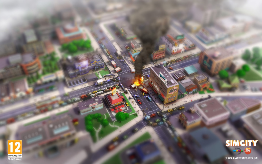 Games SimCity Wallpaper