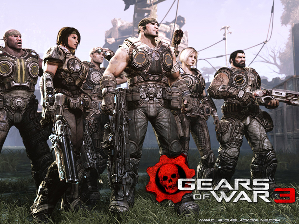 Gears of War 3 Games Wallpapers